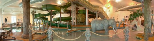 The Great Serengeti Indoor Waterpark At Holiday Inn Suites Owatonna Mn