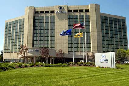 Opened As The Hyatt Regency In 1975 And Later Converted To A Hilton This Landmark Hotel Is Located At Route 70 Cuthbert Boulevard Near N J