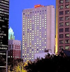 Des Moines Ia December 6 2006 The Largest Hotel In Iowa Marriott Downtown Has Launched Phase One Of An Extensive 13 Million Dollar