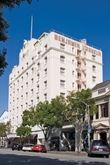 2007 Colliers International Hotels Announces That It Has Arranged The Of Historic Benjamin Franklin Hotel In Downtown San Mateo California