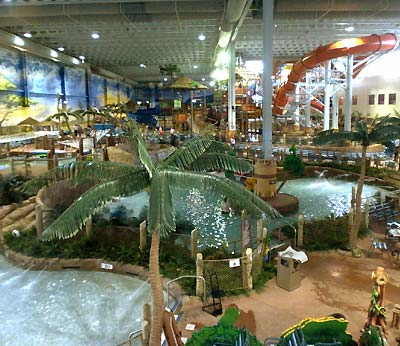 Kalahari Waterpark Resort Sandusky Expaning Indoor