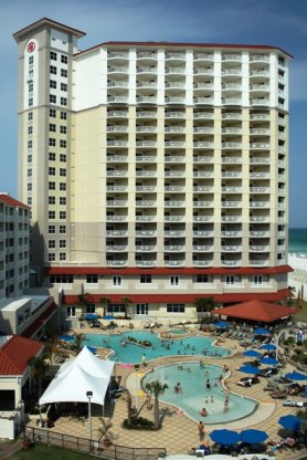 july 25 2007 the hilton pensacola beach gulf front is now open for business and leisure travelers across the globe to enjoy familiar high quality hilton - Hilton Garden Inn Pensacola