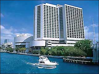 20 Million In Upgrades Creates New Hotel For The 25 Year Old Hyatt Regency Miami July 2007