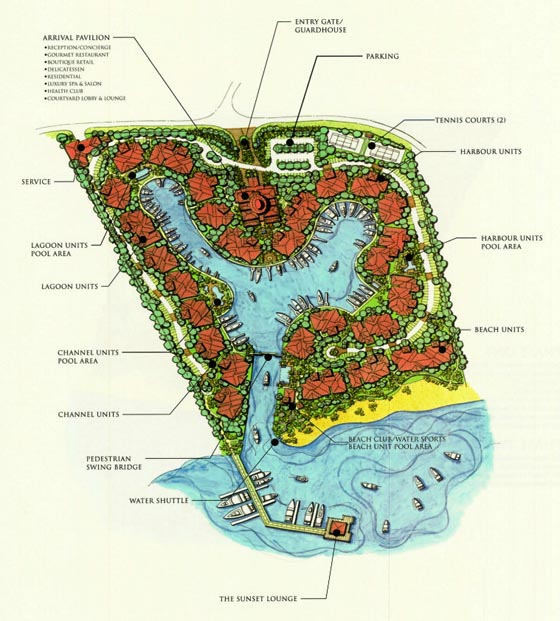 Master Plan - The Landings St. Lucia