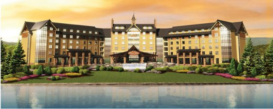 The Mount Airy Casino & Resort - A few minutes away!