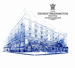 The Revitalized 90 Room George Washington Hotel Reopens In Downtown Winchester Virginia As A Wyndham Historic May 2008