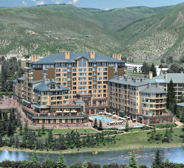 Avon Colo September 24 2008 The Westin Riverfront Resort Spa Vail Valley S Newest Green Opens Today Upper Upscale Will