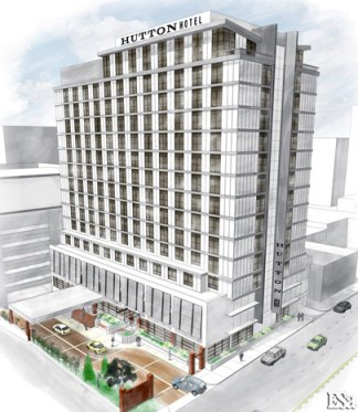 Nashville Tennessee January 13 2009 Hutton Hotel A New Four Star Independent Luxury Set To Open On West End In Late