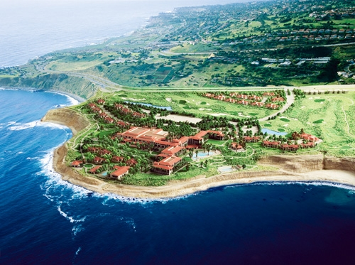 Terranea Resort Aerial Rendering