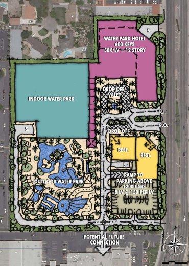 [The Anaheim Resort] Infrastructures publiques, hotels tiers, GardenWalk McWinneySitePlan