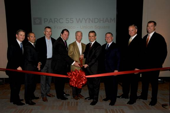 Wyndham and Highgate Holdings Execs Cut the Ribbon for the Renamed ...