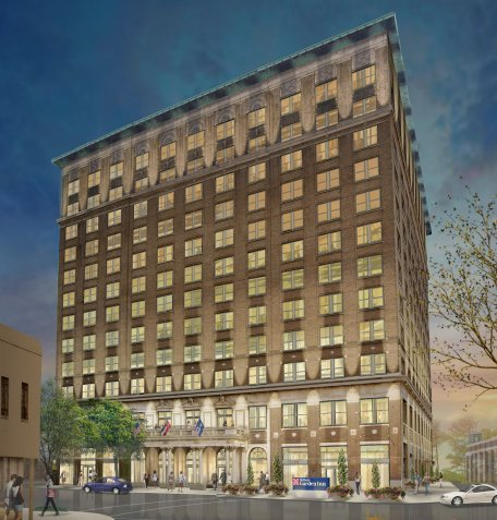 King Edward Hotel Revitalization Project in Jackson, Miss ...