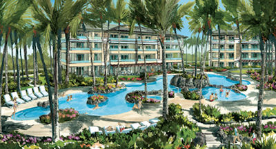 The Luxury Resort And Residential Development Located At Poipu Beach On South S Of Kauai Is First Property In Hawaii To Fly Wyndham Grand