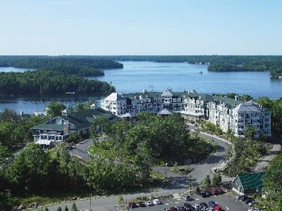 Niagara Falls Ontario July 21 2017 Located On Picturesque Lake Rosseau