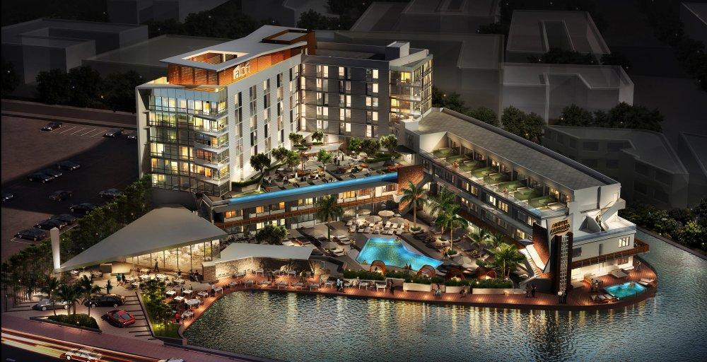 Aloft South Beach Rendering