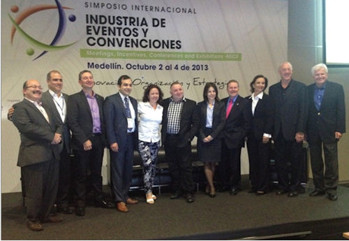 Colombia's first symposium on events and conventions featured speakers from around the globe. (Photo: COTELCO)