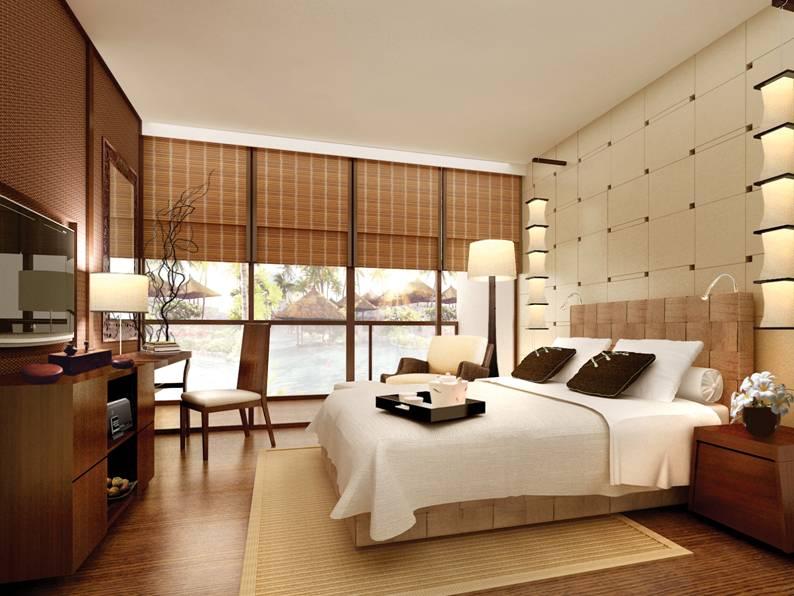 Room at The Chedi Sakala on Bali, Indonesia