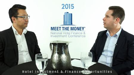 Don Li of Interstate Hotels and David Sudeck of JMBM