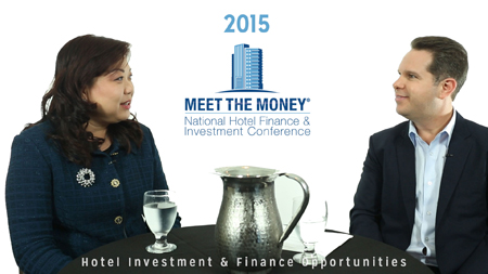Alice Gao of ICBC and David Sudeck of JMBM