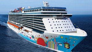 Norwegian Breakaway Cruise Liner
