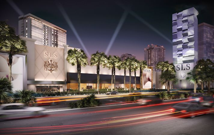 The SLS Las Vegas Hotel & Casino will be one of the first hotels to join Curio. Credit: Curio - A Collection by Hilton.