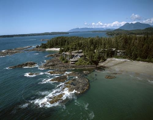 Wickaninnish Inn Located in Tofino, on Vancouver Island, BC, Canada