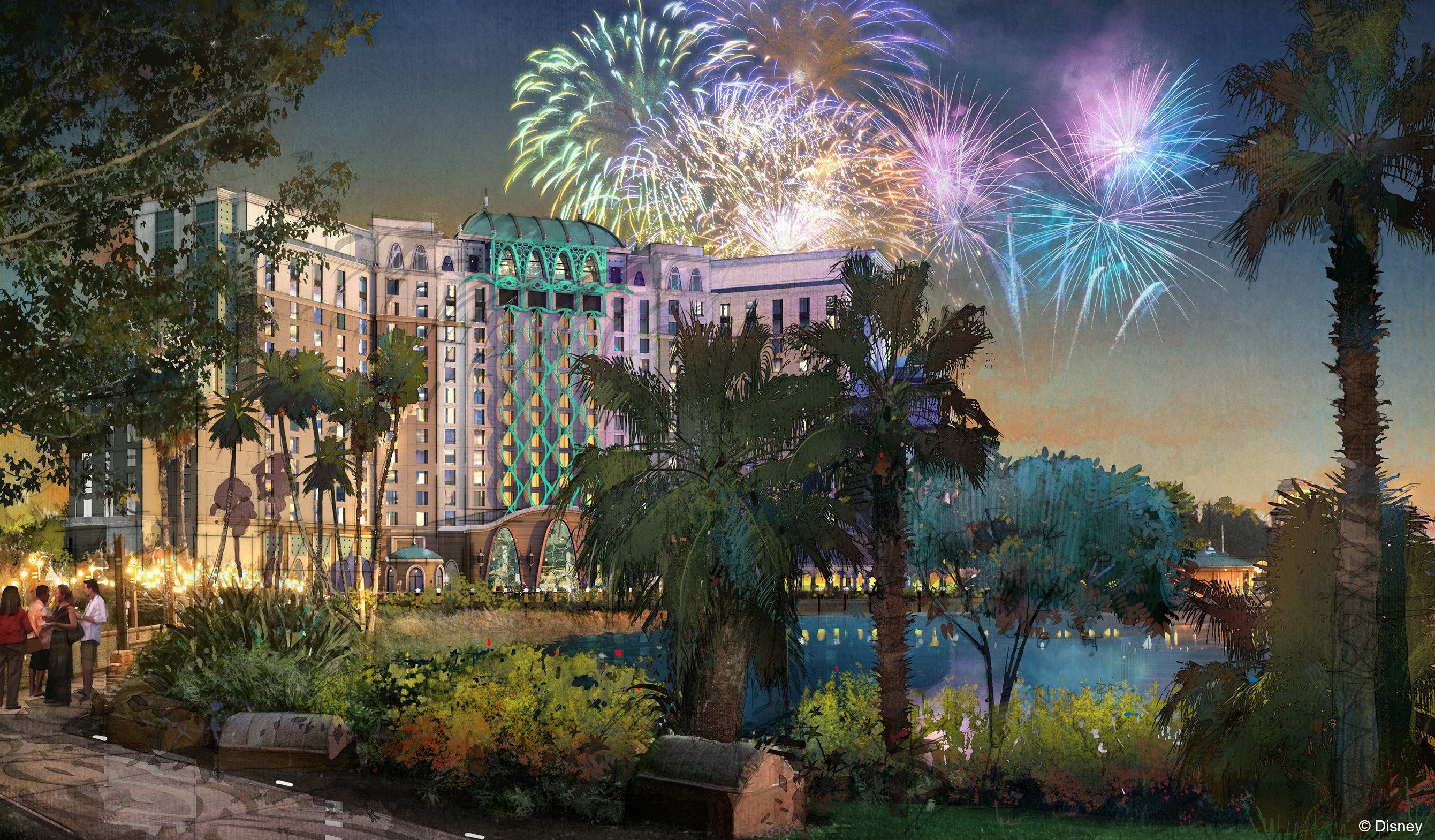 Story Tower Expanding Coronado Springs