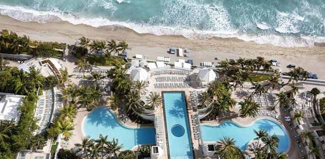 The Diplomat Beach Resort In Hollywood Florida Emerges From