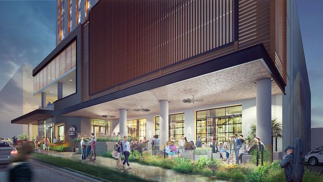 Margaritaville Nashville Hotel Reveals Exterior Renderings