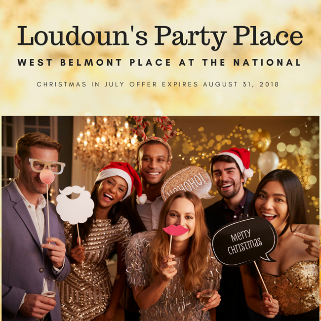 Food Ideas For Christmas In July Party.West Belmont Place In Leesburg Virginia Announces