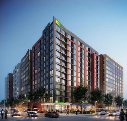 Washington Dc Hotels >> Ihg And Lima Hotels Break Ground On New Build Holiday Inn