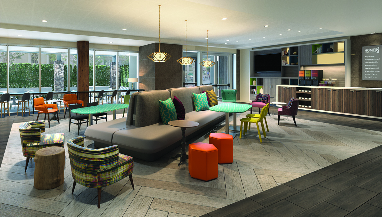Home2 Suites By Hilton Orlando Near University Of Central Florida Opens Hotel Online
