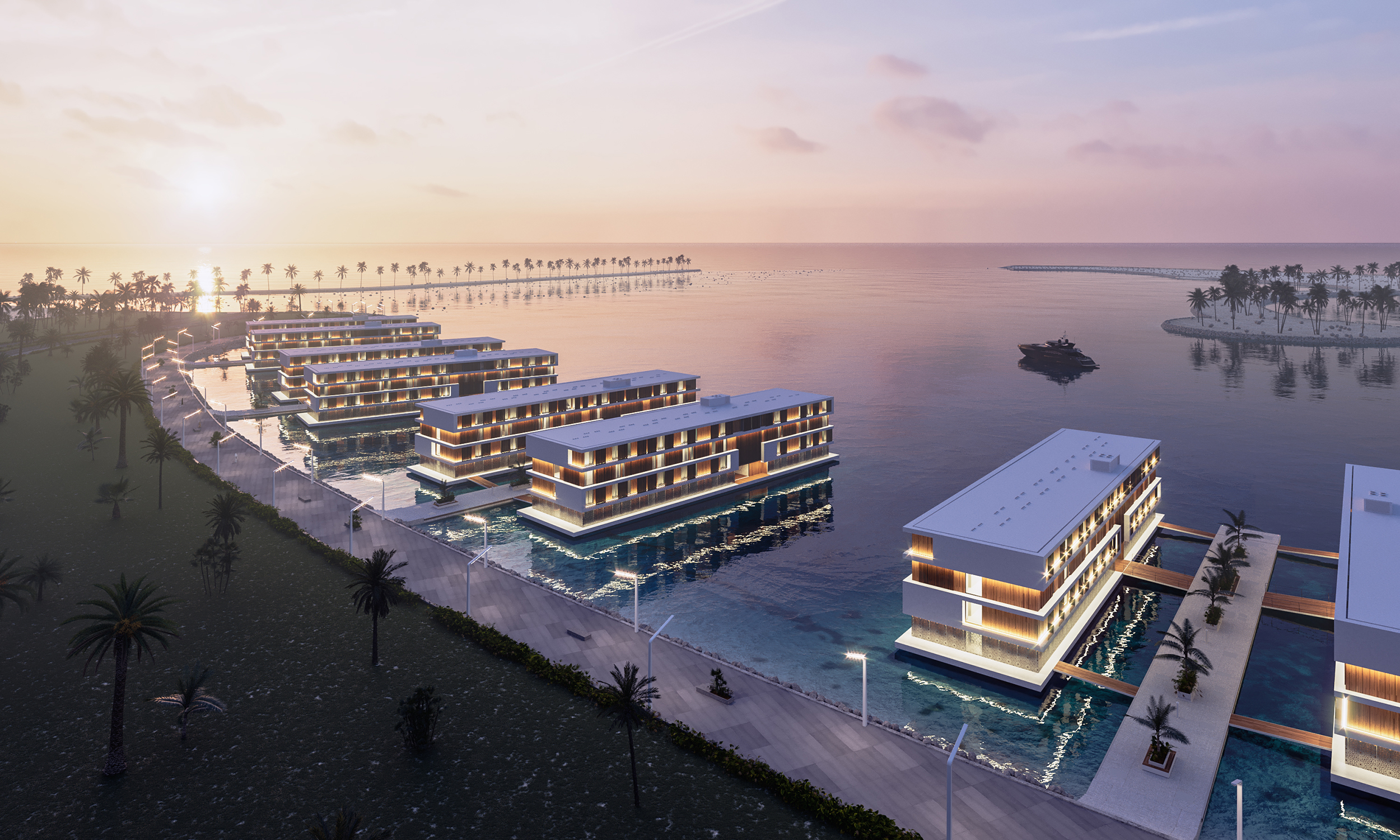 Floating Luxury Hotels Coming to Qatar for FIFA World Cup 2022